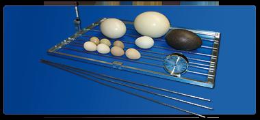 Fiem Griglia volta uova ad inserti regolabili
